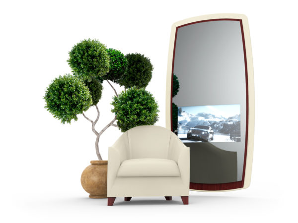 AUTOMOTIVE MIRROR SCREEN